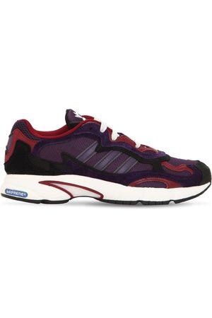 """adidas Sneakers Aus Mesh Und Wildleder """"temper Run"""""""