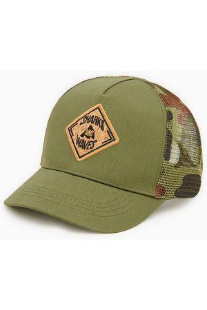 Zara Baseballcap mit camouflagemuster und gitterstoff