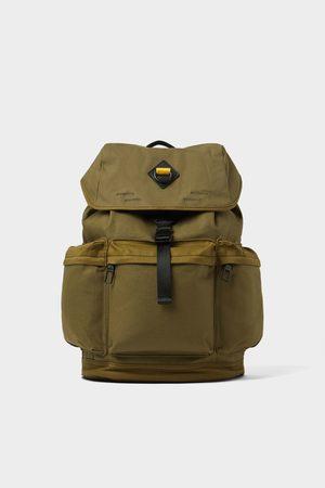 Zara Multi-taschen-rucksack in