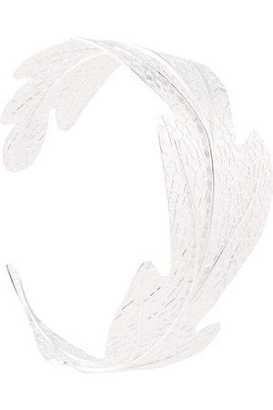 Karen Walker Armreif im Blattdesign