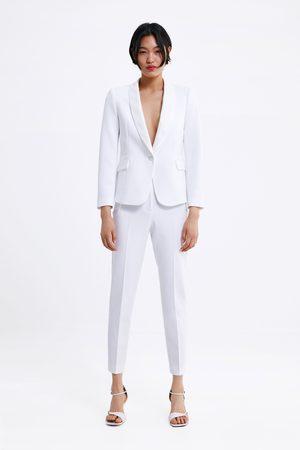 Zara Smokinghose mit seitenstreifen