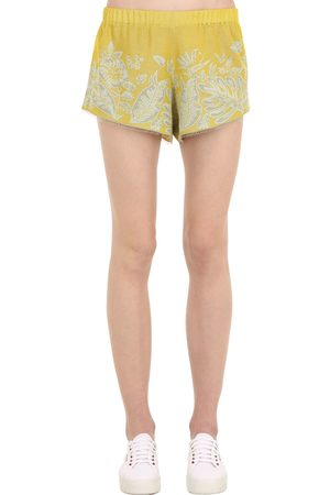 "Alanui Shorts Aus Jacquard ""hawaiian Dream"""