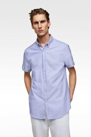 Zara Herren Business - Oxfordhemd mit punkten