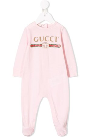 Gucci Logo print rompers