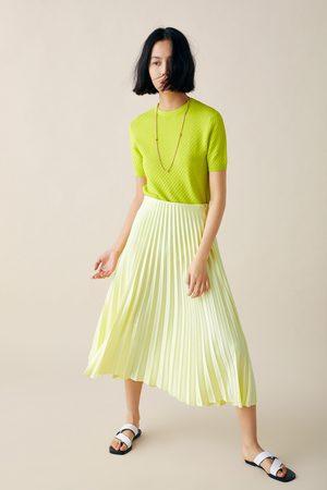 Zara Pullover mit strukturmuster
