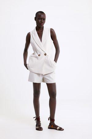 Zara Bermudashorts mit taschen