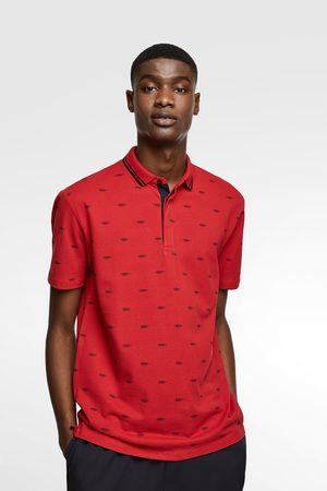 Zara Poloshirt mit maritimem print