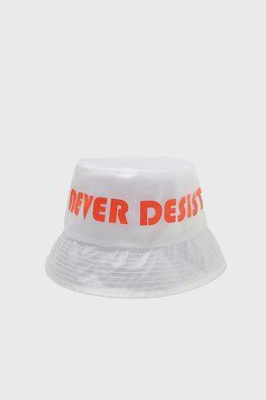Zara Herren Hüte - Slogan rain hat