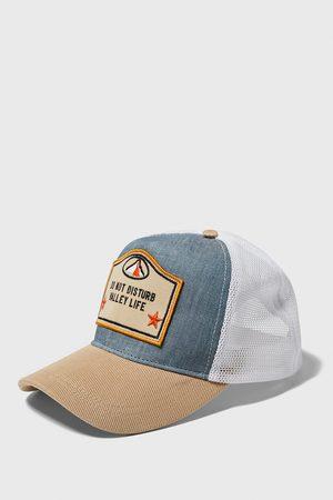 Zara Herren Caps - Baseballcap mit netzstoff und aufnäher