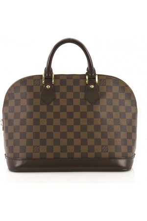 LOUIS VUITTON Alma cloth handbag