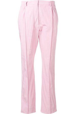 VALENTINO Damen Capris - Cropped-Hose mit Falten