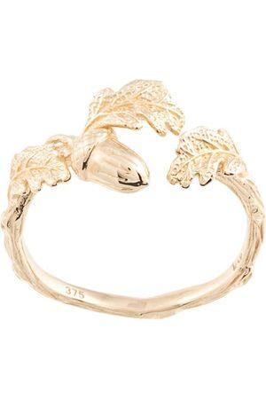 Karen Walker Acorn and Leaf' Ring
