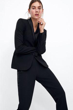 Zara Blazer & Sakkos - SMOKING-BLAZER MIT ABGESETZTEM REVERS