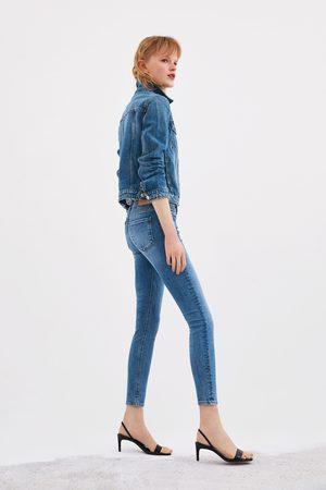 Zara Fugurformende mid-rise-jeans