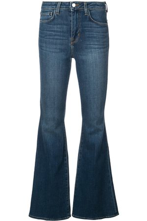 L'Agence Schmale Bootcut-Jeans