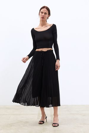 Zara Plissee-culotte