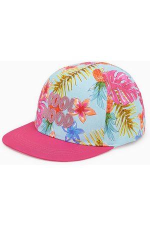 Zara Baseballcap mit glitzerprint