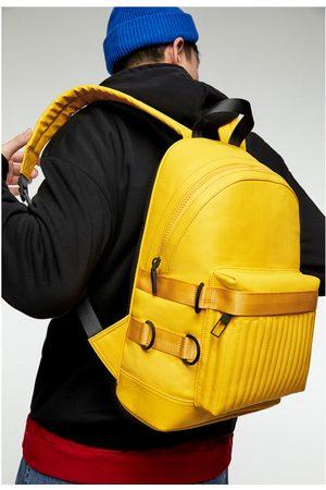 Zara Biker-rucksack mit bändern