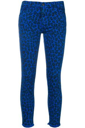 J Brand Jeans mit Leoparden-Print