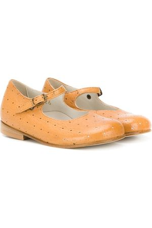 PèPè Mädchen Ballerinas - Perforated mary jane shoes - Nude
