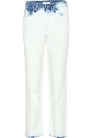 7 for all Mankind High-Rise Cropped Jeans Malia