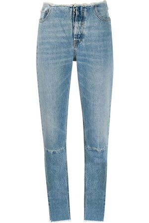Unravel Project Ausgefranste Skinny-Jeans