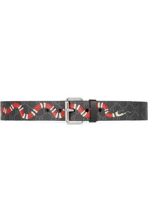 Gucci GG' Gürtel mit Königsnatter-Print