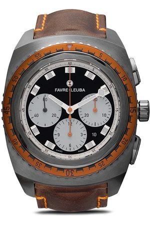 Favre Leuba Raider Sea Sky' Chronograph, 44mm - Black With White Sub Dials