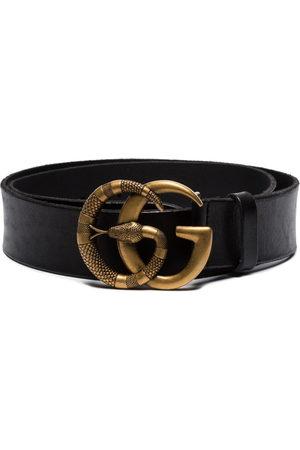 Gucci Gürtel mit Doppel G und Schlange