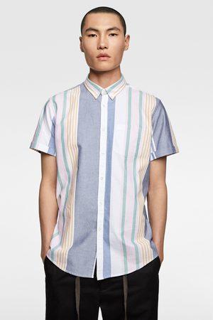 Zara Herren Business - Oxfordhemd mit streifen