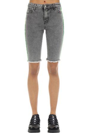 Represent Shorts Aus Baumwollmischdenim
