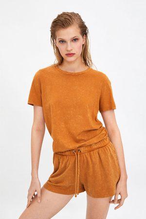 Zara Verwaschene shorts