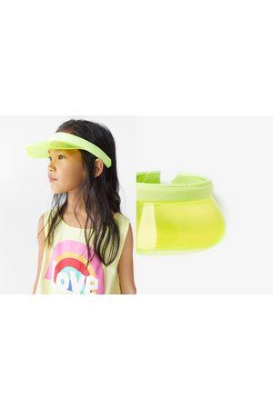 Zara Transparente schirmmütze in neonfarbe
