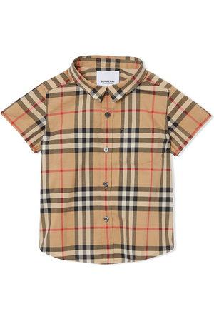 Burberry Shirts - Vintage check shirt - Nude