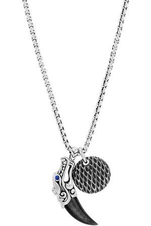 John Hardy Legends Naga' Halskette mit Anhänger - Silver