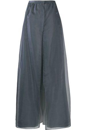 Armani Damen Weite Hosen - Hose im Layering-Look