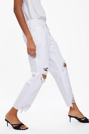 Zara Jeans z1975 relaxed mit rissen