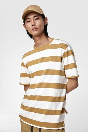 Zara Herren Shirts - Gestreiftes shirt – premium