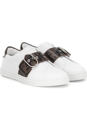 Fendi Sneakers aus Leder