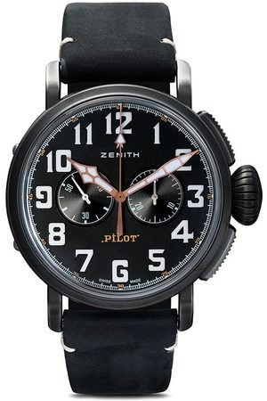 Zenith Pilot Type 20 Chronograph Ton-Up' Armbanduhr 45mm - Black