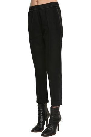 Haider Ackermann Damen Hosen & Jeans - Elastic Straight Leg Virgin Wool Pants