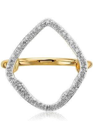 Monica Vinader GP Riva' Ring mit Diamanten