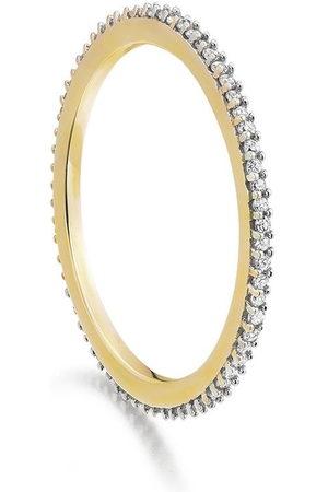 Monica Vinader Eternity' Ring mit Diamanten