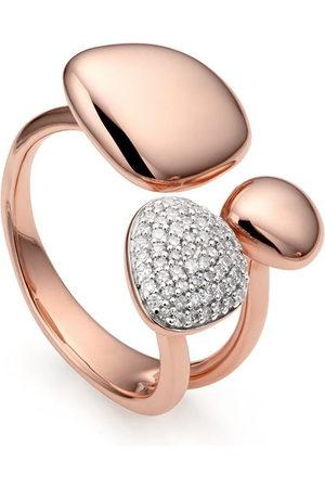 Monica Vinader RP Nura' Ring mit Diamanten