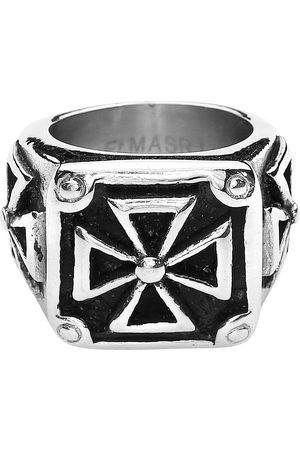 etNox hard and heavy Heavy Iron Cross Ring Standard