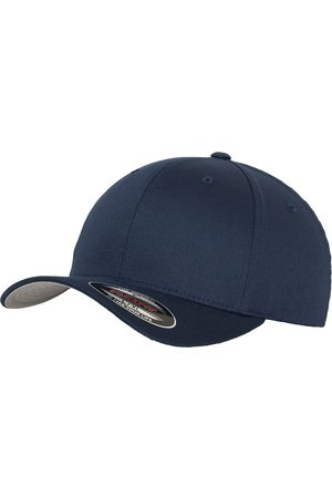 Flexfit Wooly Combed Flexcap navy