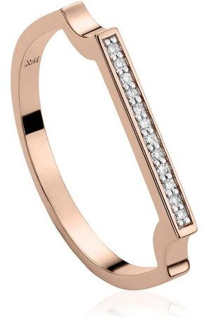 Monica Vinader RP Signature' Armreif mit Diamanten