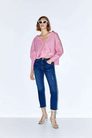 Zara Jeans z1975 high waist steppnaht