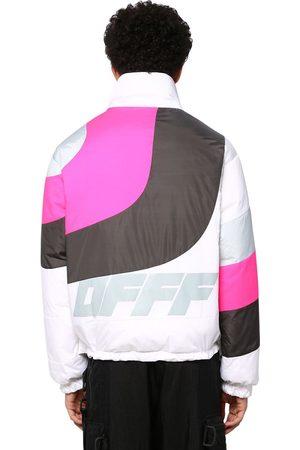 OFF-WHITE Printed Nylon Down Jacket