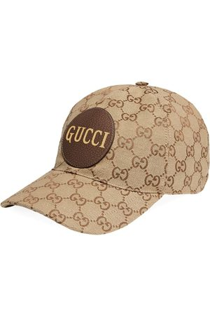 Gucci Baseballkappe aus GG Canvas - Nude